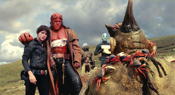 Hellboy und Liz in neuer Eintracht