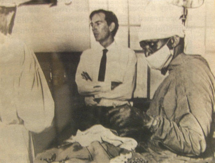 Christian Barnard im Groote Schuur Hospital