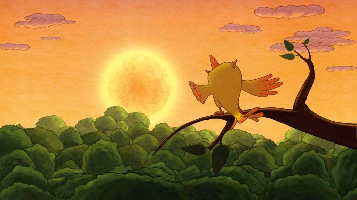 Na endlich: Der Sonnenvogel