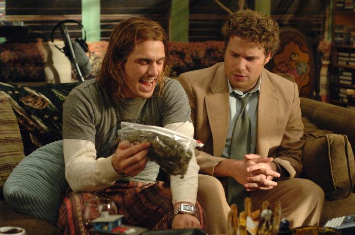 Seth Rogen und James Franco als Kiffer und Dealer