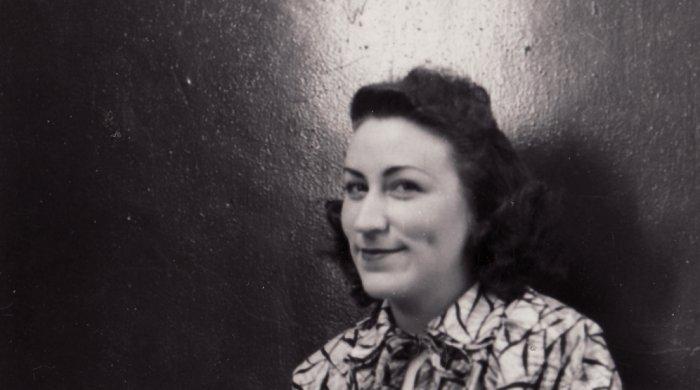 Ein Bild aus glücklichen Tagen: Gerda Rother