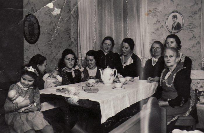 Weihnachten 1939 im Familienkreis