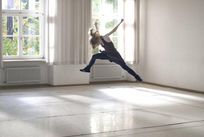 Auf dem Tanzboden fühlt sich Lilli wohl