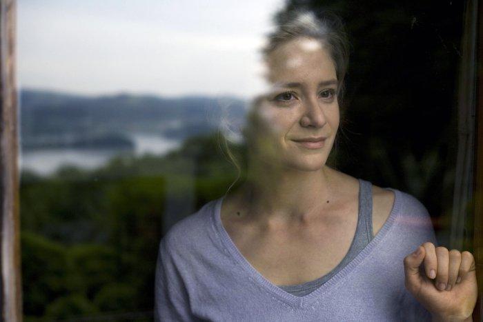 Julia Jentsch schaut optimistisch in die Zukunft
