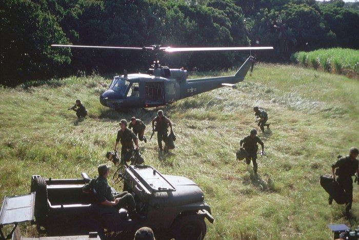 Die Männer sind am Einsatzort gelandet
